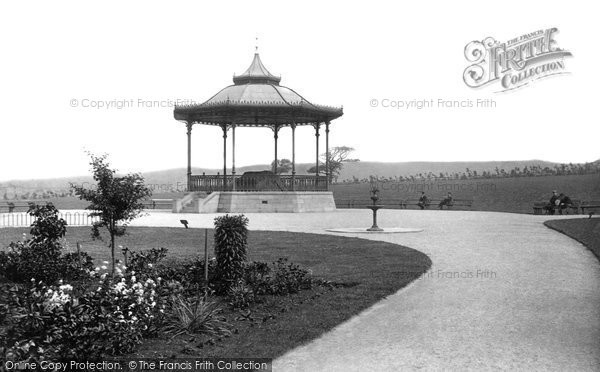 Burnley, Townley Park Bandstand 1895