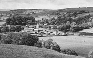 Burnsall, And Langerton Hill c.1935