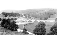 Burnsall, From The South 1900
