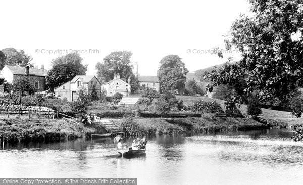 Burnsall, On The River 1900