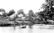 Burnsall, On The River 1900