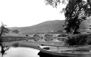 Burnsall, The Bridge 1926
