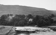 Burnsall, View From The Bridge c.1955