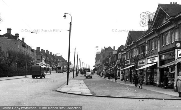 Photo of Burnt Oak, c1955