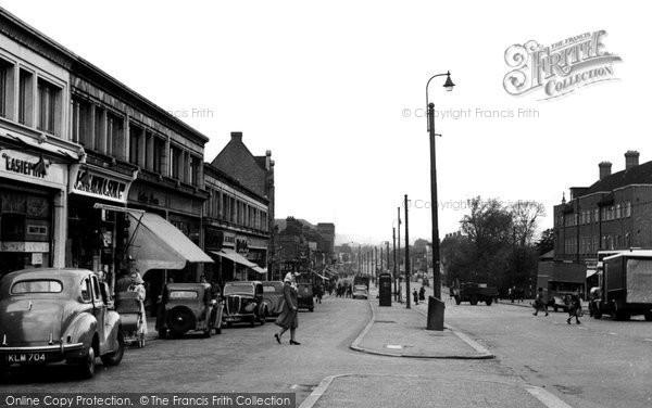 Burnt Oak, Edgware Road c.1955