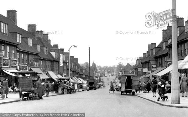 Photo of Burnt Oak, Watling Avenue c1955