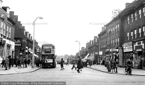 Burnt Oak, Watling Avenue c.1955