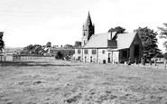 Burnt Yates, St Andrew's Church And Village c.1960