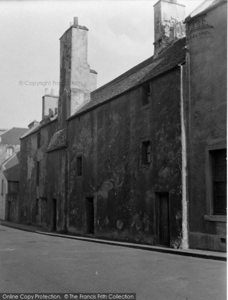 Burntisland, Somerville Street 1953