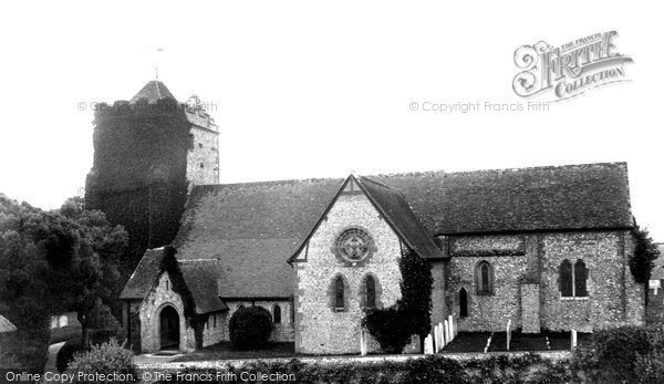 Burpham, St Mary's Church 1898