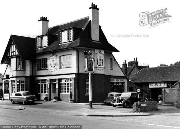 Burpham, The Green Man c.1955