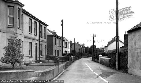 Burraton, Callington Road c.1960