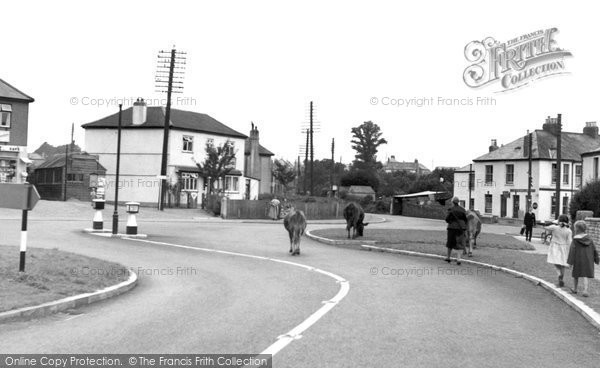 Photo of Burraton, the Cross c1960