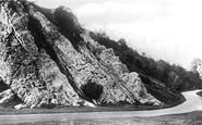 Burrington Combe, Rock Of Ages c.1935