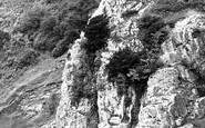 Burrington Combe, Rock Of Ages c.1955