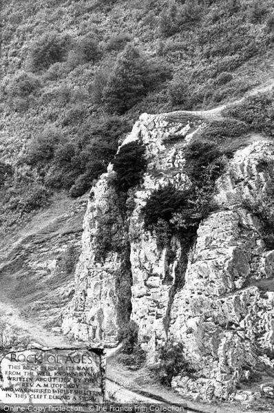 Burrington, Rock Of Ages c.1955