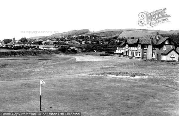 Burry Port, Golf Links c.1960