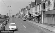 Burry Port, Station Road c1965