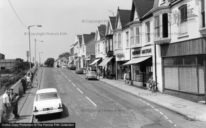 Photo of Burry Port, Station Road c1965
