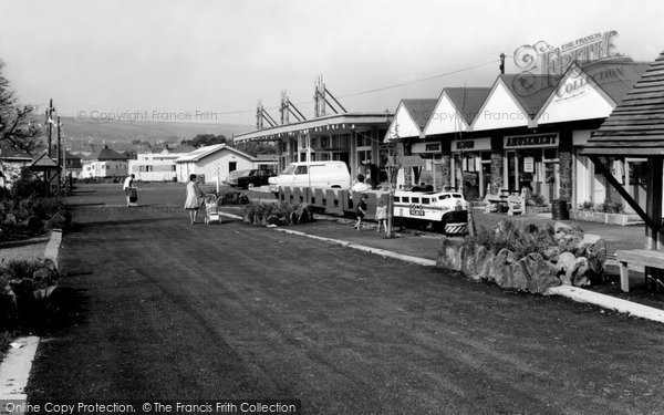 Burry Port, The Amusement Arcade c.1965
