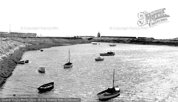 Burry Port, The Harbour c.1960