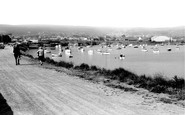 Burry Port, The Harbour c.1965