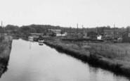 Burscough, Beside The Canal 1960
