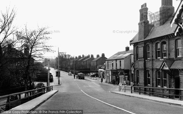 Burscough, Liverpool Road c.1955