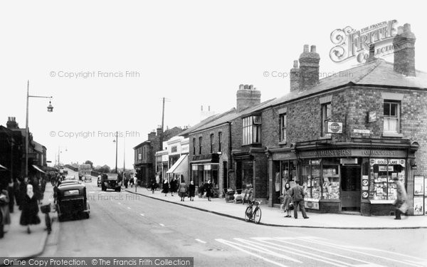 Burscough, Looking West c.1950