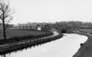 Burscough, The Canal And Lock c.1950