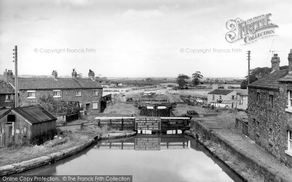 Photo of Burscough, the Canal c1965