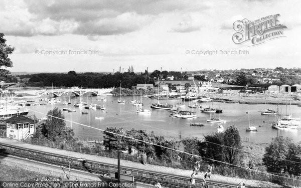 Bursledon, Hamble River c.1960