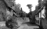 Bursledon, Old Bursledon Village c.1955