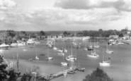 Bursledon, River Hamble c.1955
