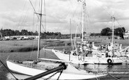 Bursledon, River Hamble c.1955
