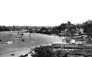 Bursledon, River Hamble c.1960