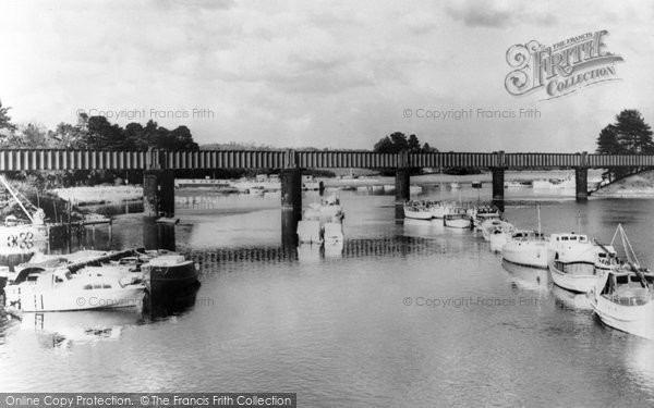 Photo of Bursledon, River Hamble c1960