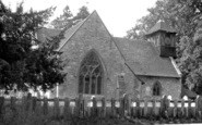 Bursledon, St Leonard's Church c.1955