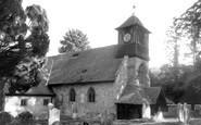 Bursledon, St Leonard's Church c.1965