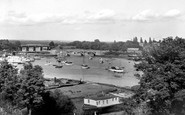 Bursledon, the River Hamble c1965