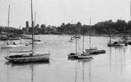 Bursledon, View From The Bridge c.1960