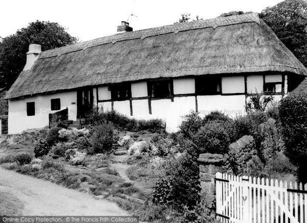 Burton, Barn End Cottage c.1965