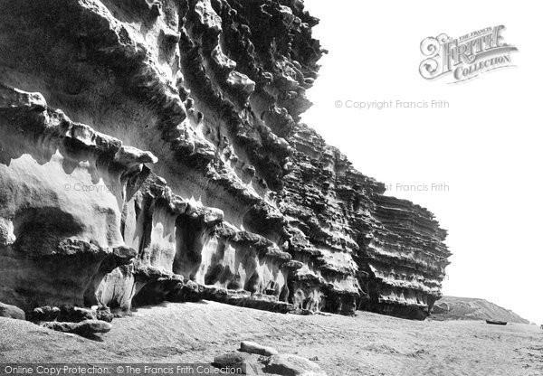 Burton Bradstock, Cliffs 1922