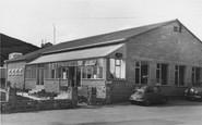 Burton Bradstock, Freshwater Caravan Park Reception c.1960