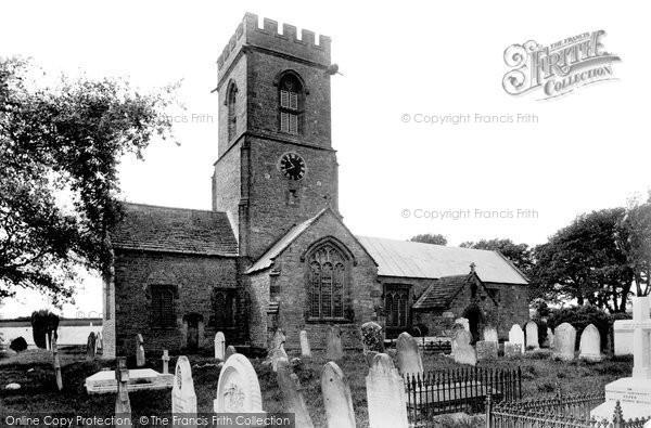 Burton Bradstock, St Mary's Church 1906
