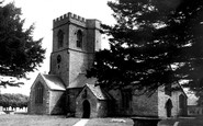 Burton Bradstock, St Mary's Church c.1960