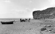 Burton Bradstock, The Beach 1954