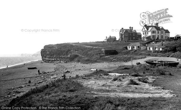 Burton Bradstock, The Beach c.1955