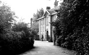 Burton, Entrance To Burton Manor c.1955