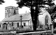 Burton In Kendal, St John's Church c1955